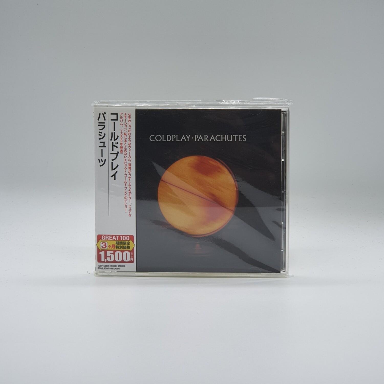 [USED] COLDPLAY -PARACHUTES- CD (JAPAN PRESS)