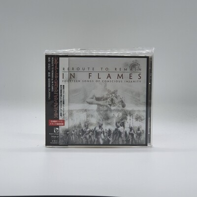 IN FLAMES -RE ROUTE TO REMAIN- CD (JAPAN PRESS)