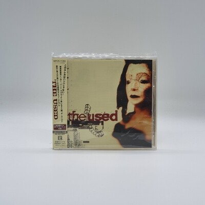 THE USED -S/T- CD (JAPAN PRESS)