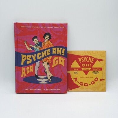 V/A -PSYCHE OH! A-GO-GO- BOOK + CD