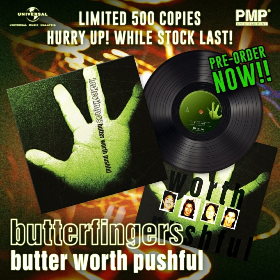 BUTTERFINGERS -BUTTER WORTH PUSHFUL- LP