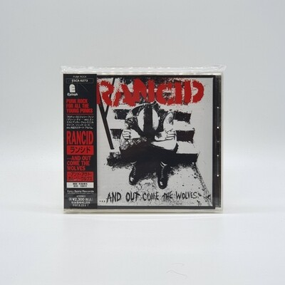 RANCID -...AND OUT COME THE WOLVES- CD (JAPAN PRESS)