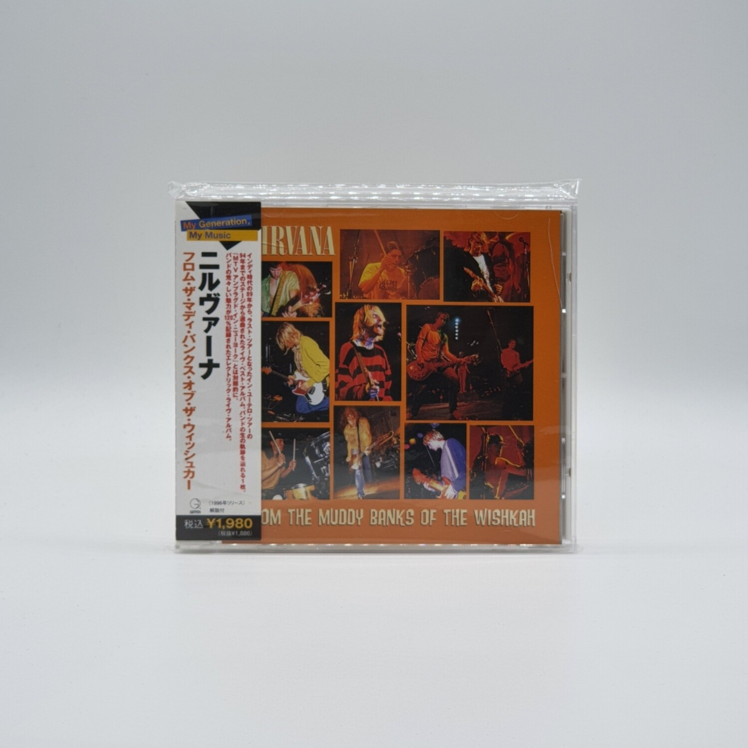 [USED] NIRVANA -FROM THE MUDDY BANKS OF THE WISHKAH- CD (JAPAN PRESS)