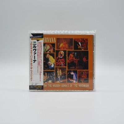 NIRVANA -FROM THE MUDDY BANKS OF THE WISHKAH- CD (JAPAN PRESS)