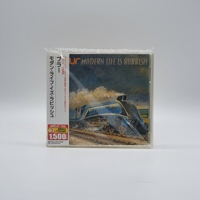 BLUR -MODERN LIFE IS RUBBISH- CD (JAPAN PRESS)
