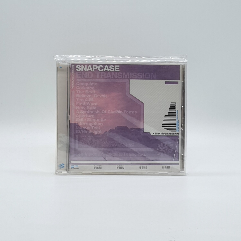 SNAPCASE -END TRANSMISSION- CD (JAPAN PRESS)