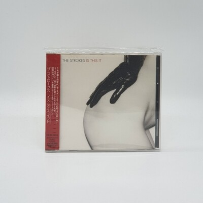 THE STROKES -IS THIS IT- CD (JAPAN PRESS)