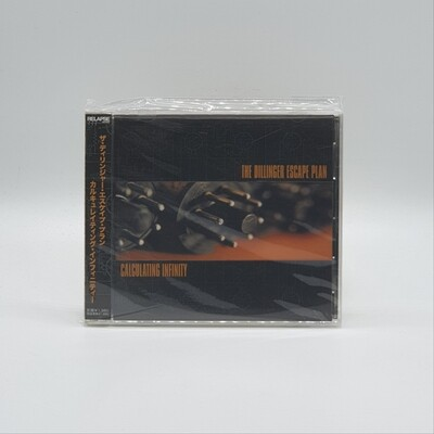 THE DILLINGER ESCAPE PLAN -CALCULATING INFINITY- CD (JAPAN PRESS)