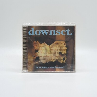 [USED] DOWNSET -DO WE SPEAK A DEAD LANGUAGE- CD