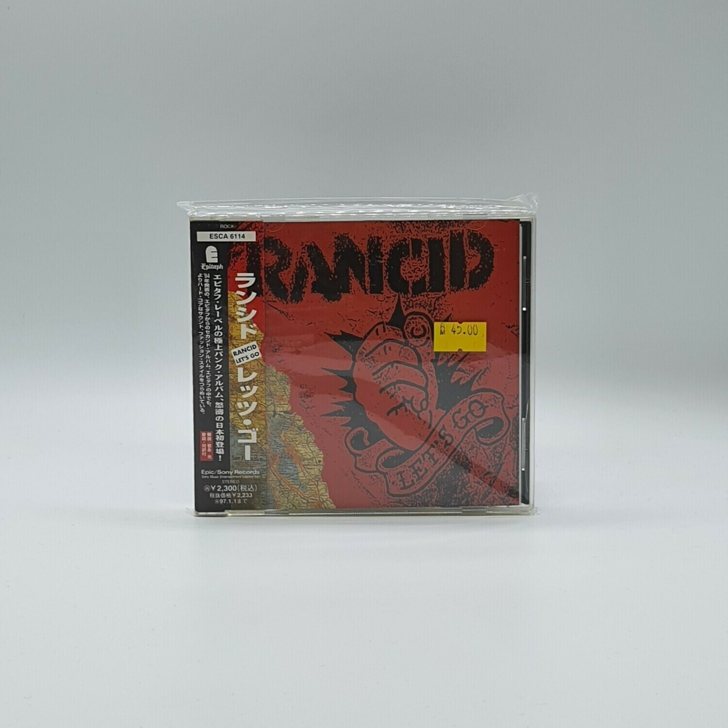 RANCID -LETS GO- CD (JAPAN PRESS)