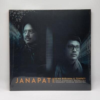JANAPATI -DEWA BUDJANA & TOHPATI: CZECH SYMPHONY ORCHESTRA & BUDAPEST SCORING ORCHESTRA- LP