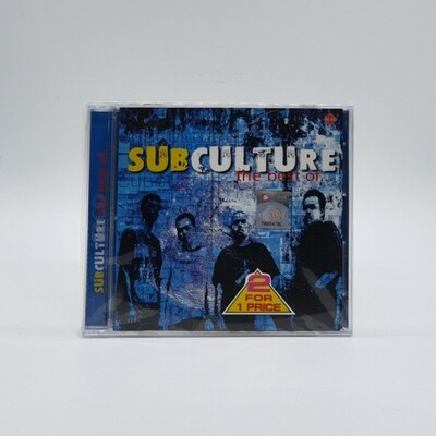 SUBCULTURE -THE BEST OF- 2XCD