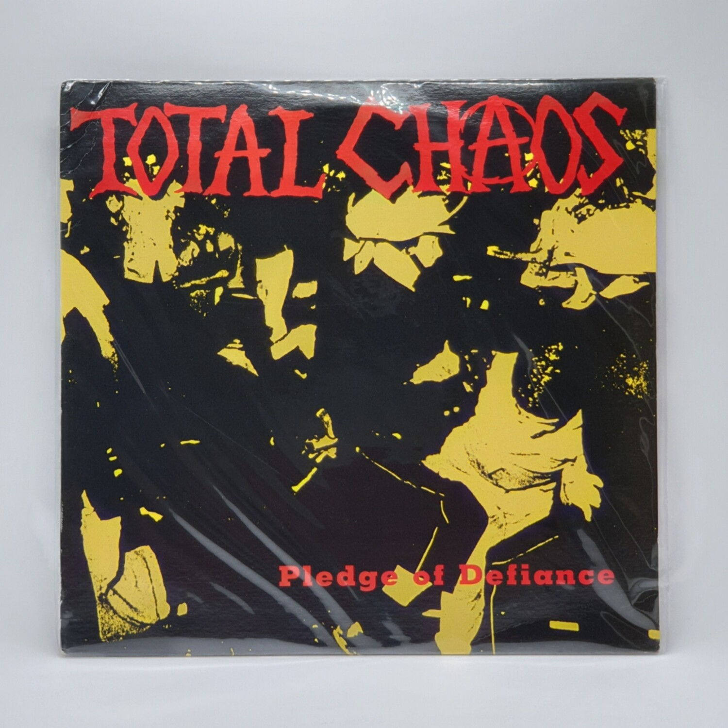 TOTAL CHAOS -PLEDGE OF DEFIANCE- LP