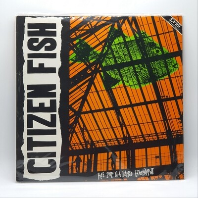 CITIZEN FISH -FREE SOULS IN TRAPPED ENVIRONMENT- LP
