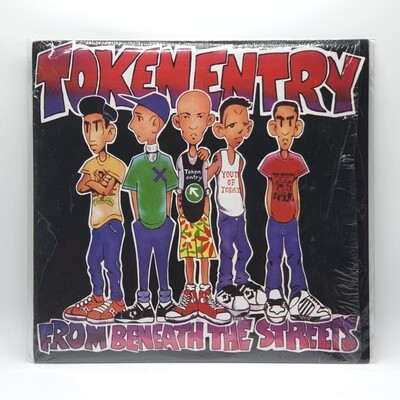 TOKEN ENTRY -FROM BENEATH THE STREETS- LP (RED VINYL)