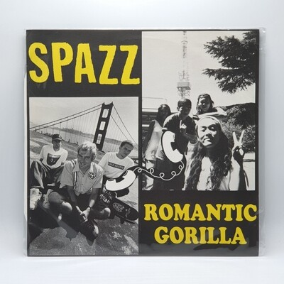 SPAZZ/ROMANTIC GORILLA -SPLIT- LP