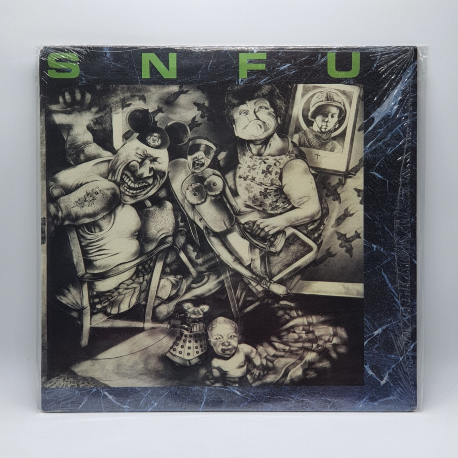 SNFU -BETTER THAN A STICK IN THE EYE- LP