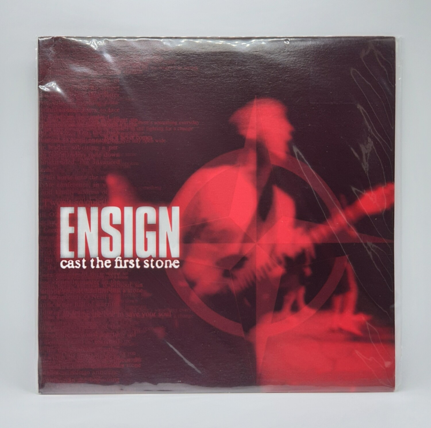 ENSIGN -CAST THE FIRST STONE- LP (RED VINYL)