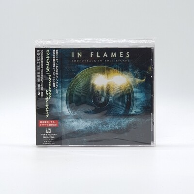 IN FLAMES -SOUNDTRACK TO YOUR ESCAPE- CD (JAPAN PRESS)