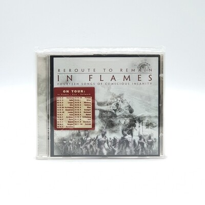 [USED] IN FLAMES -REROUTE TO REMAIN: FOURTEEN SONGS OF CONSCIOUS INSANITY- CD