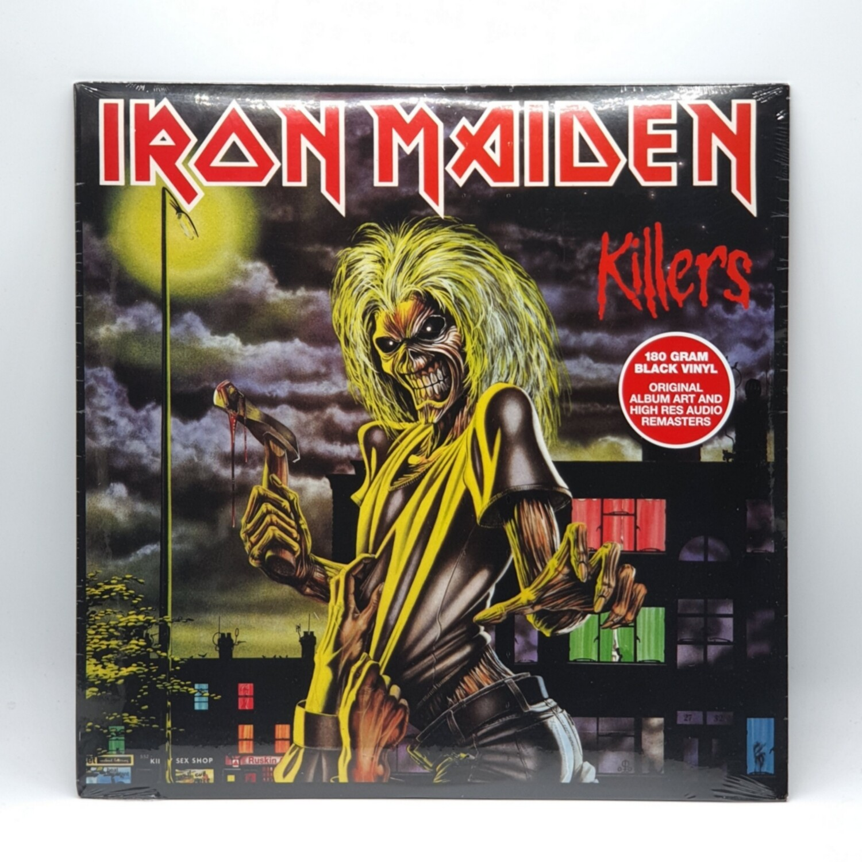 IRON MAIDEN -KILLERS- LP