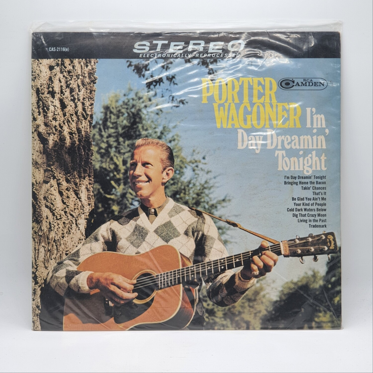 [USED] PORTER WAGONER -IM DAY DREAMIN TONIGHT- LP
