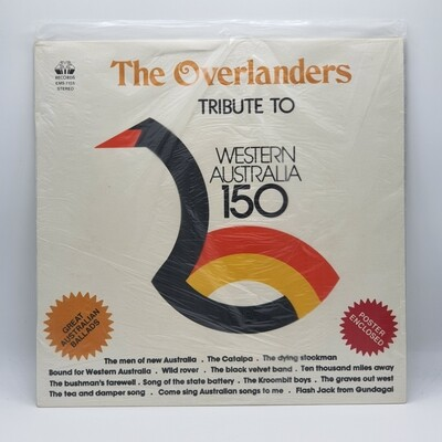 [USED] THE OVERLANDERS -TRIBUTE TO WESTERN AUSTRALIA 150- LP