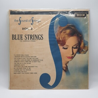 [USED] THE CAMBRIDGE STRINGS -THE SOUND OF STRINGS VOL. 4 BLUE STRINGS- LP