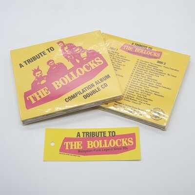 V/A -THE BOLLOCK A TRIBUTE COMPILATION- 2XCD