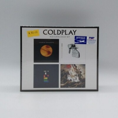 COLDPLAY -CATALOGUE SET- 4XCD