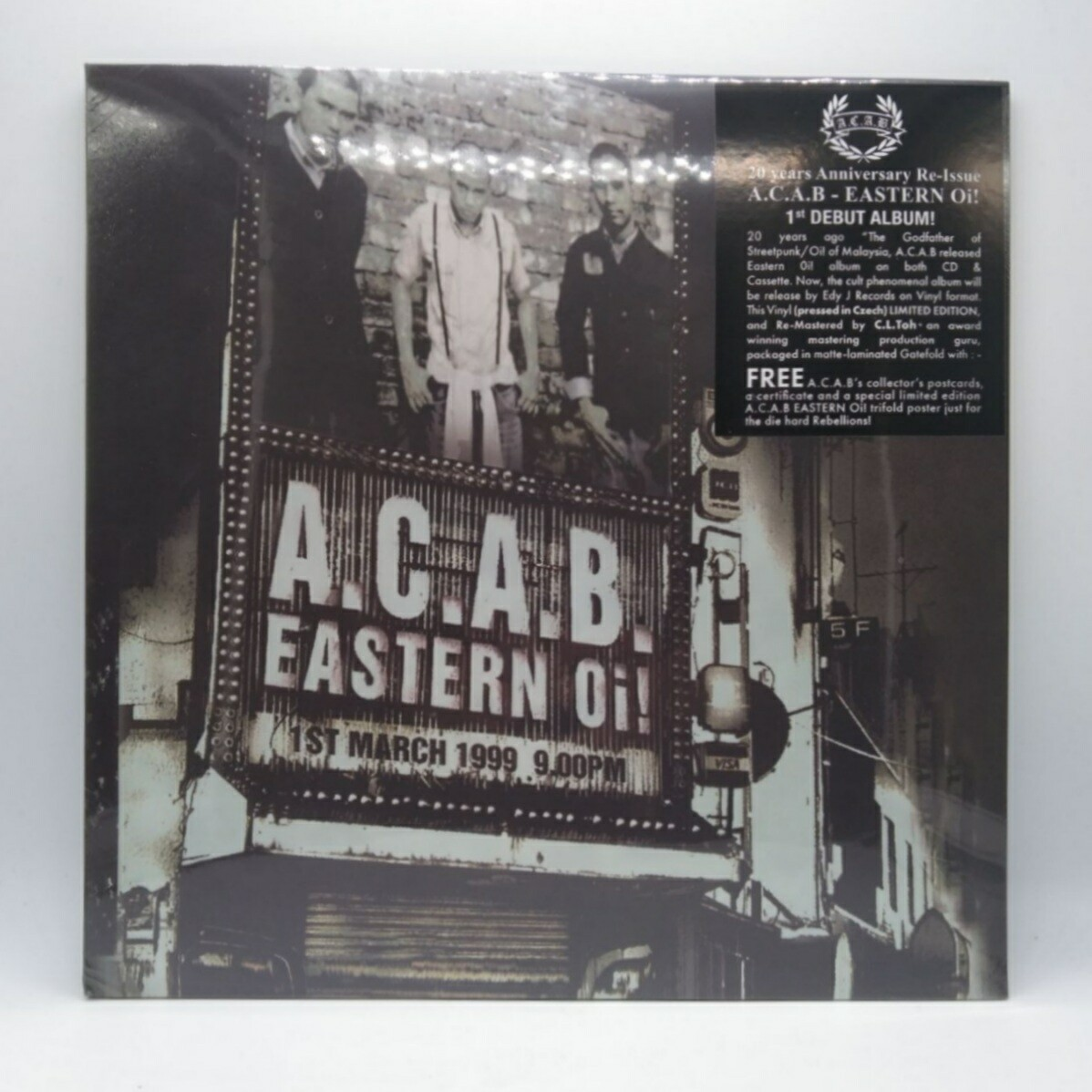 ACAB -EASTERN OI!- LP