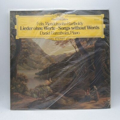 [USED] FELIX MENDELSSOHN BARTHOLDY•DANIEL BARENBOIM  -LIEDER OHNE WORTE=SONGS WITHOUT WORDS- LP