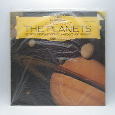 [USED] GUSTAV HOLST•BERLINER PHILHARMONIKER•HERBERT VON KARAJAN -THE PLANETS- LP