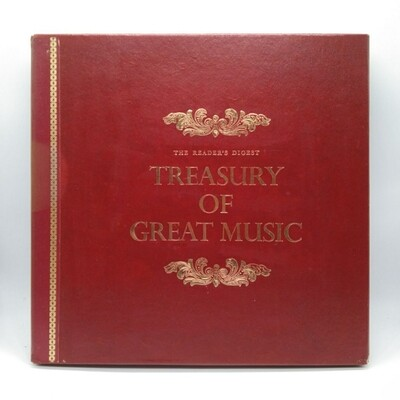 [USED] THE ROYAL PHILHARMONIC ORCHESTRA -THE READERS DIGEST TREASURY OF GREAT MUSIC- 12XLP (BOXSET)