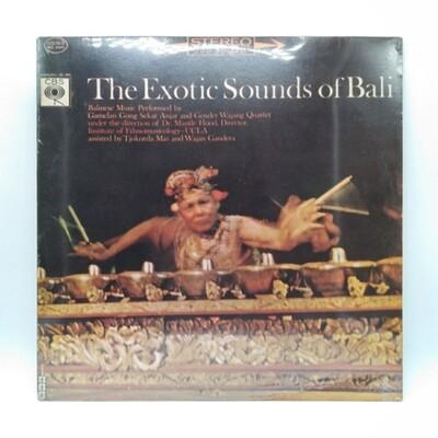 [USED] GAMELAN GONG SEKAR ANJAR AND GENDER WAYANG QUARTET• UNDER THE DIRECTION OF DR MANTLE HOOD -THE EXOTIC SOUND OF BALI- LP