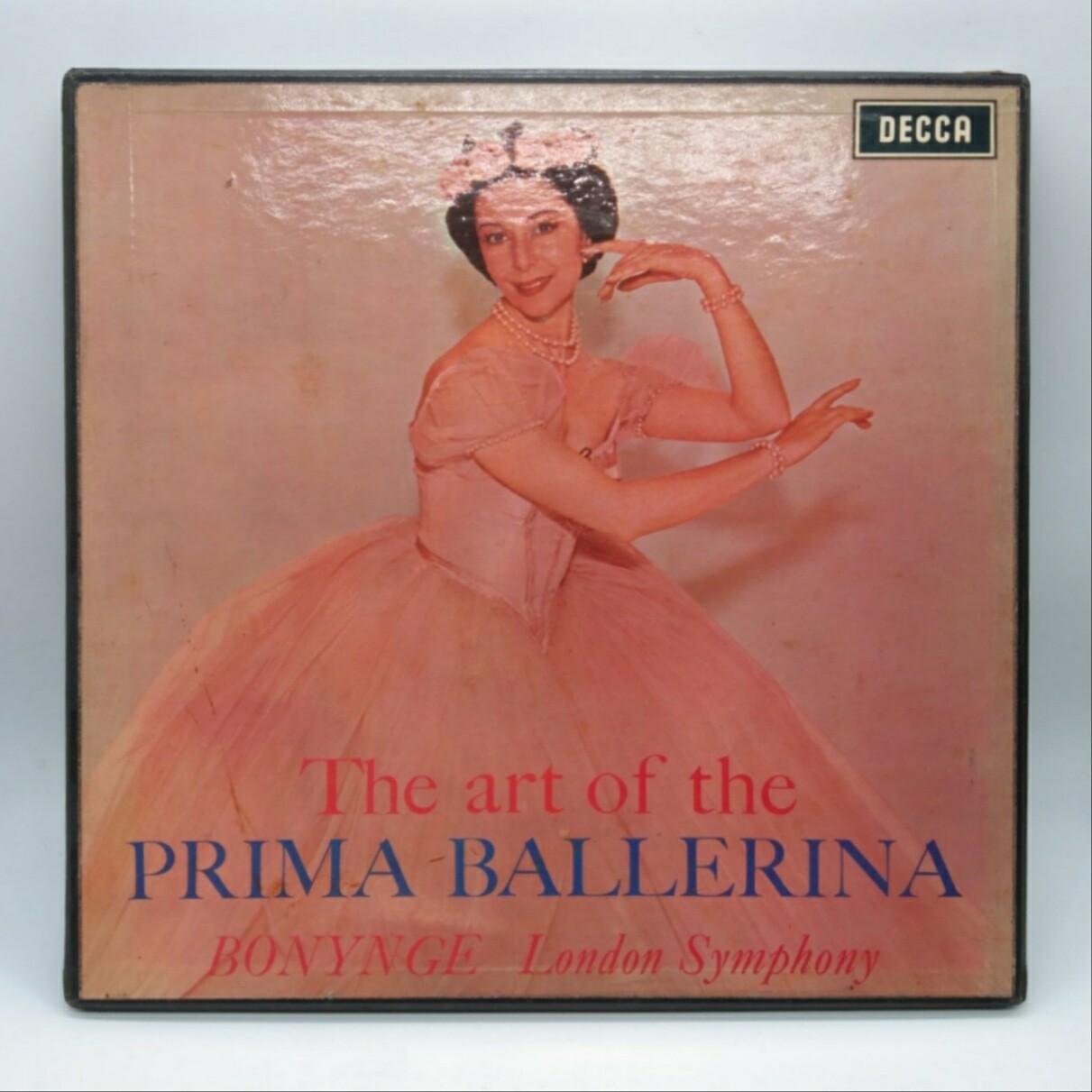 [USED] RICHARD BONYNGE•LONDON SYMPHONY ORCHESTRA -THE ART OF PRIMA BALLERINA- 2XLP
