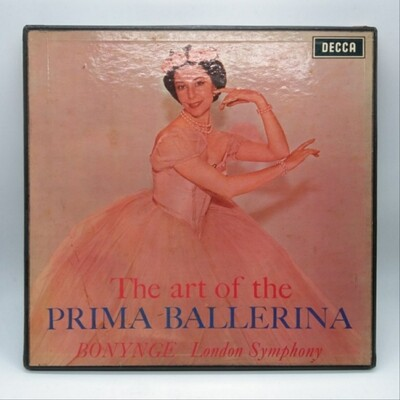 [USED] RICHARD BONYNGE•LONDON SYMPHONY ORCHESTRA -THE ART OF PRIMA BALLERINA- 2XLP