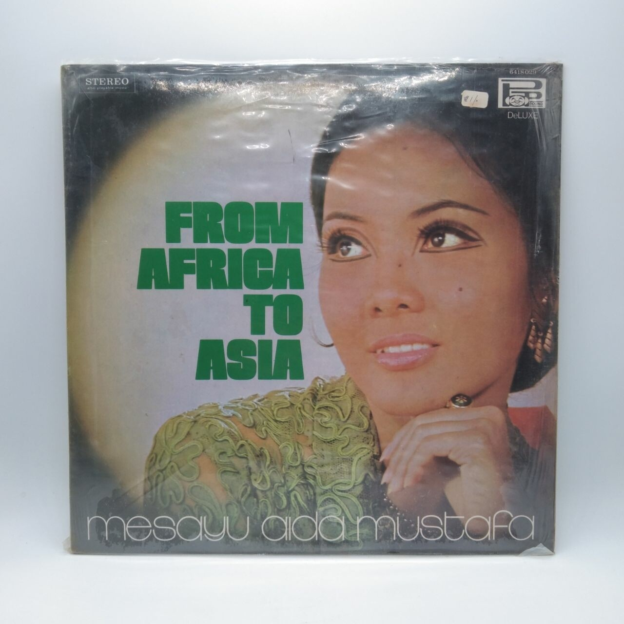 [USED] MESAYU AIDA MUSTAFA -FROM AFRICA TO ASIA- LP