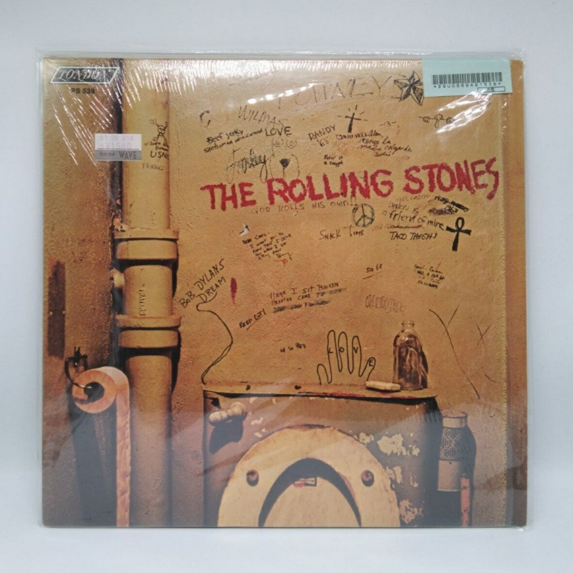 [USED] ROLLING STONE -BEGGARS BANQUET- LP