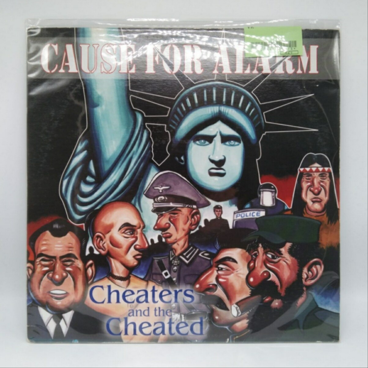 [USED] CAUSE FOR ALARM -CHEARTERS AND THE CHEATED- LP
