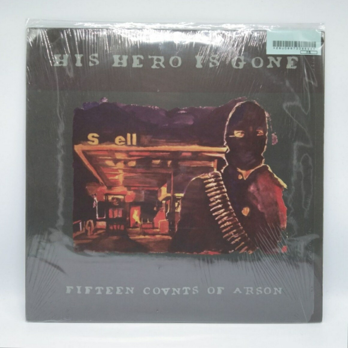 [USED] HIS HERO IS GONE -FIFTEEN COVNTS OF ARSON- LP