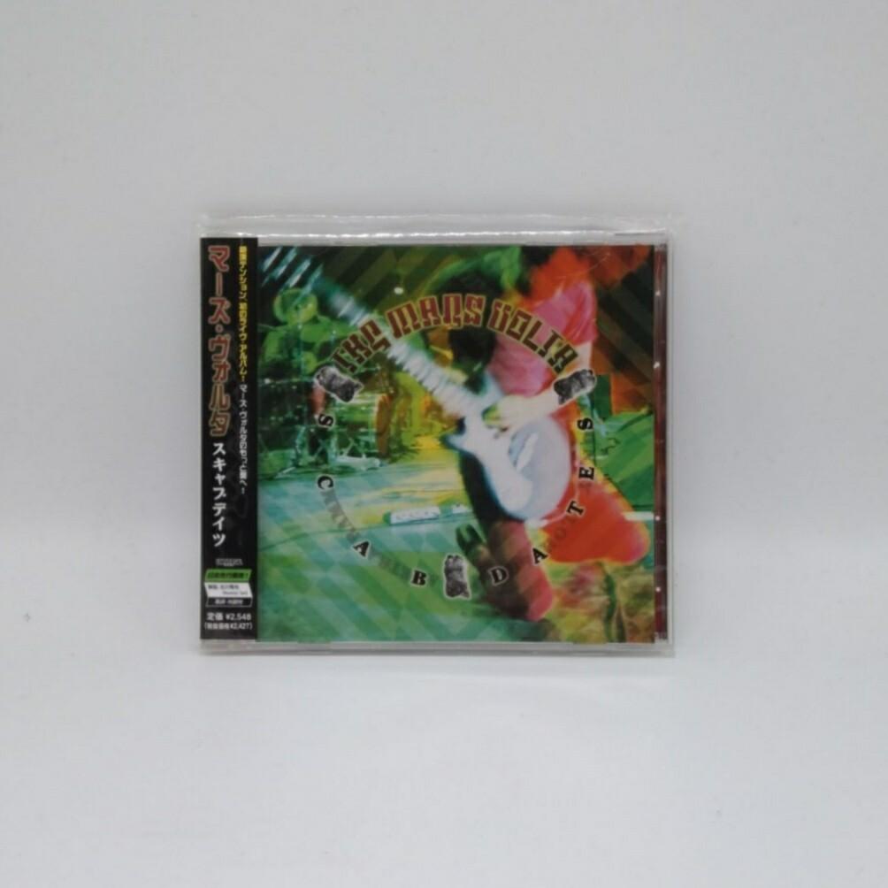[USED] THE MARS VOLTA -SCABDATES- CD