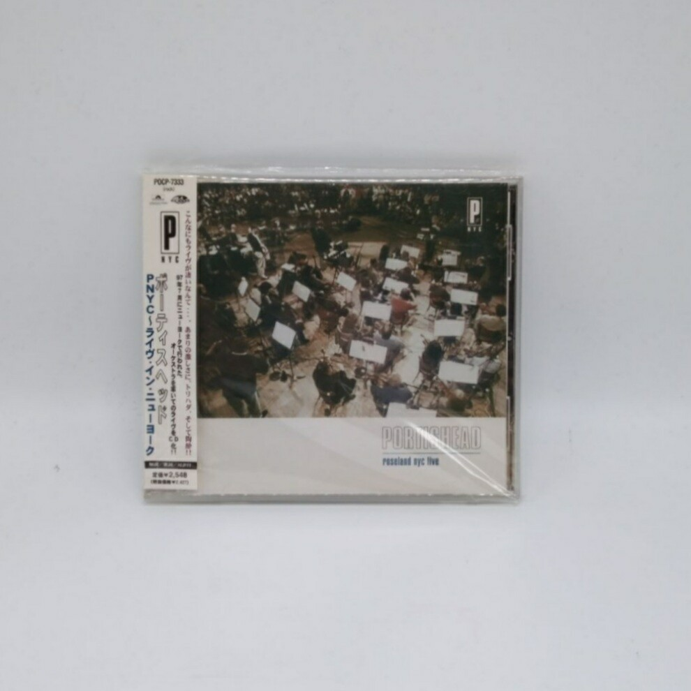 [USED] PORTISHEAD -ROSELAND NY CITY LIVE- CD (JAPAN PRESS)