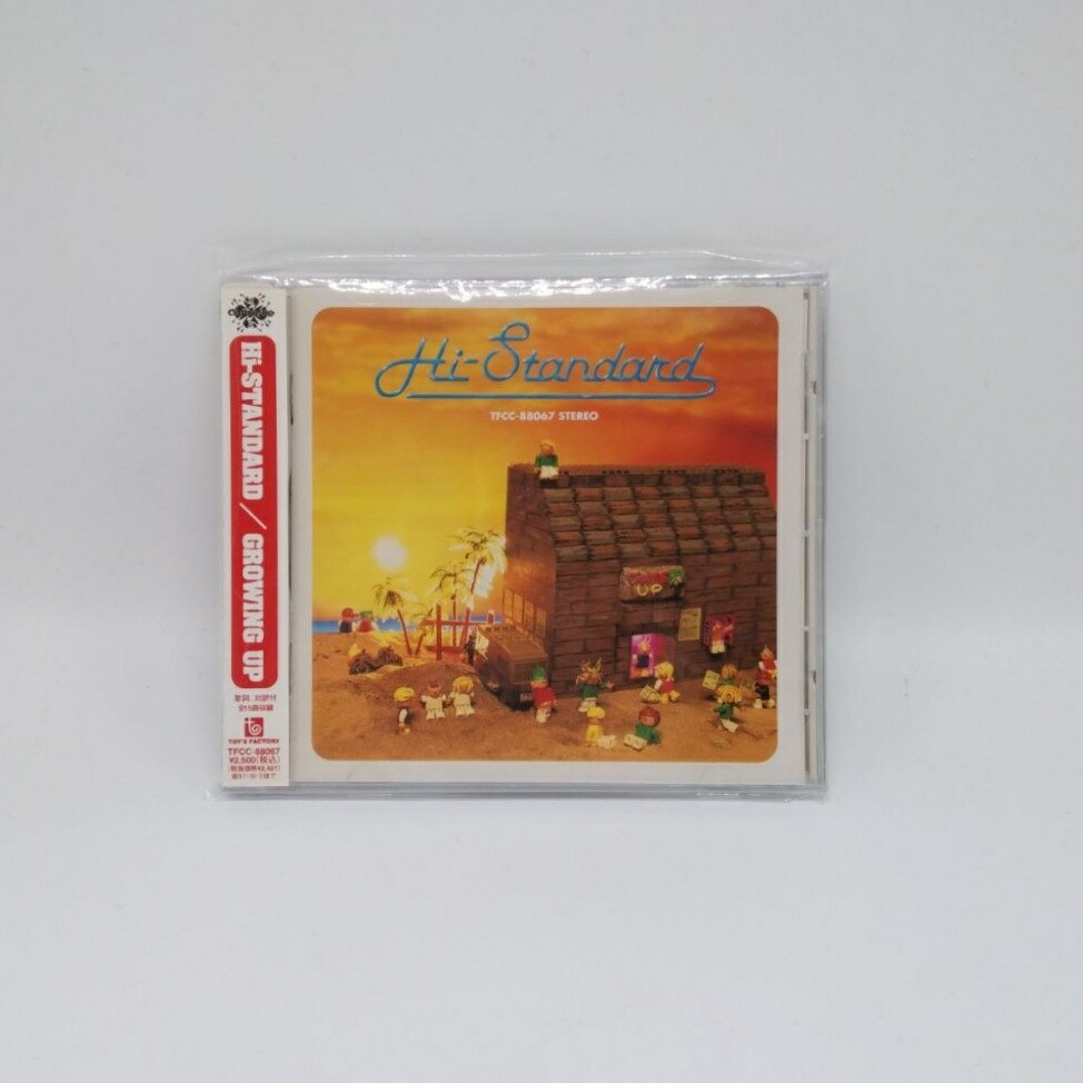 [USED] HI STANDARD -GROWING UP- CD (JAPAN PRESS)