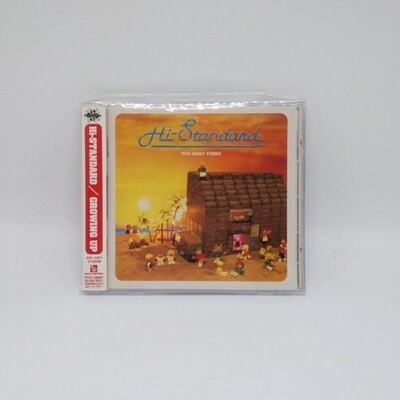 [USED] HI STANDARD -GROWING UP- CD (JAPAN PRESS)