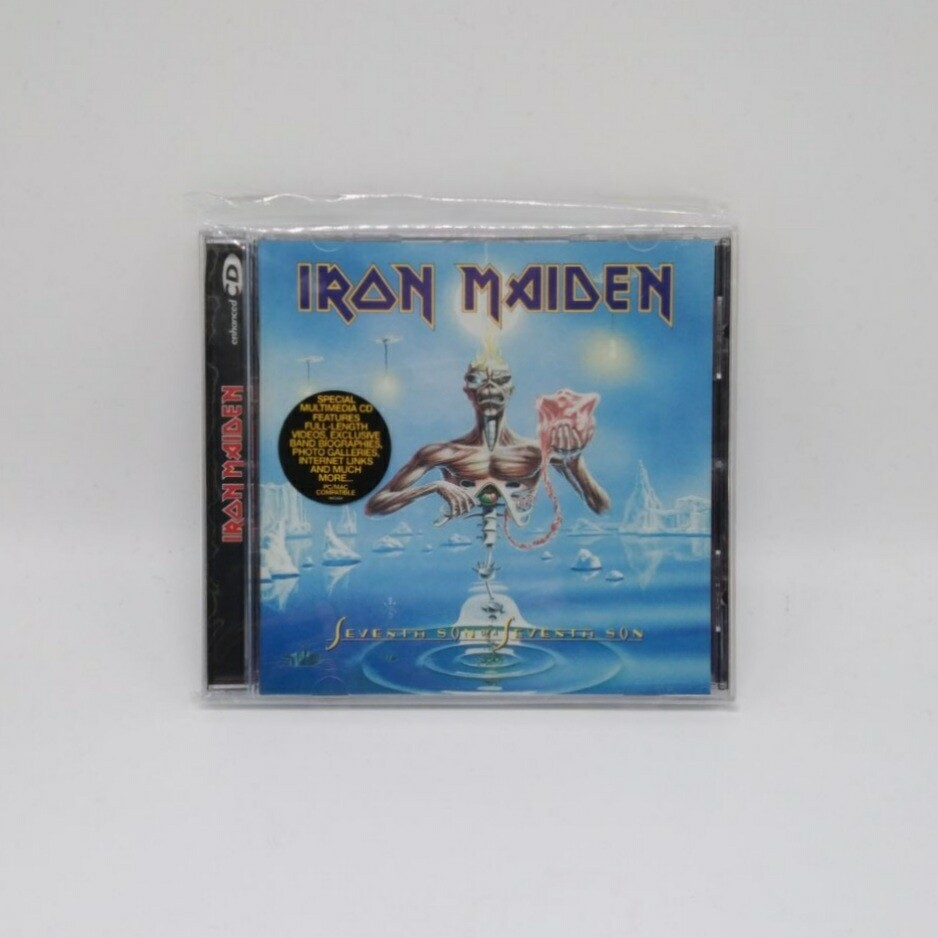 [USED] IRON MAIDEN -SEVENTH SON OF SEVENTH SON- CD