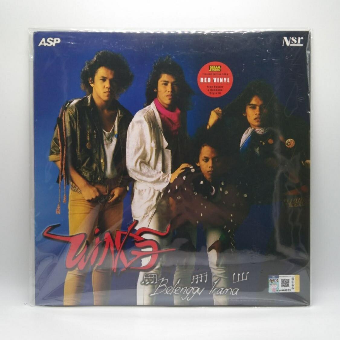 WINGS -BELENGGU IRAMA- LP (RED VINYL)