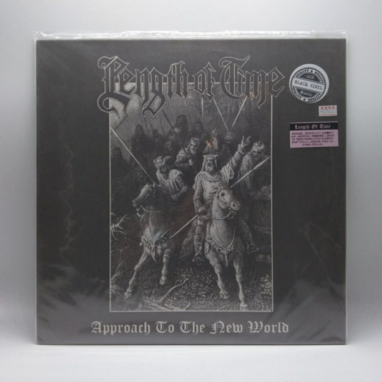 [USED] LENGTH OF TIME -APPROACH TO THE NEW WORLD- LP