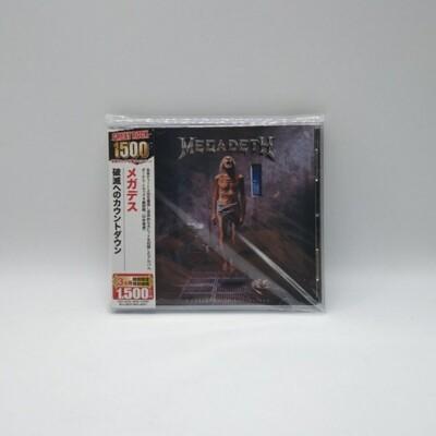 MEGADETH -COUNTDOWN TO EXTINCTION- CD (JAPAN PRESS)