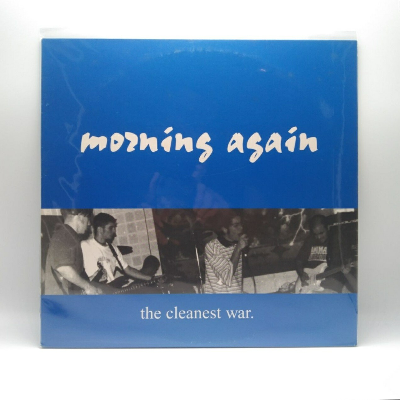 [USED] MORNING AGAIN -THE CLEANEST WAR- LP